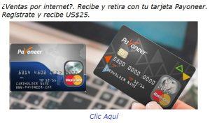 Reciba pagos por internet